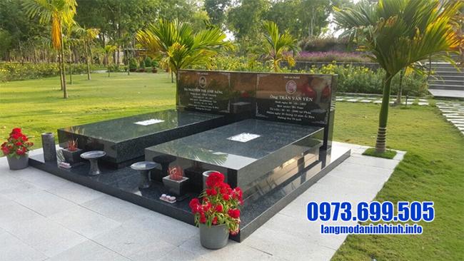 mộ đá hoa cương đẹp giá rẻ