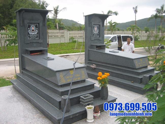 mộ đá hoa cương giá rẻ