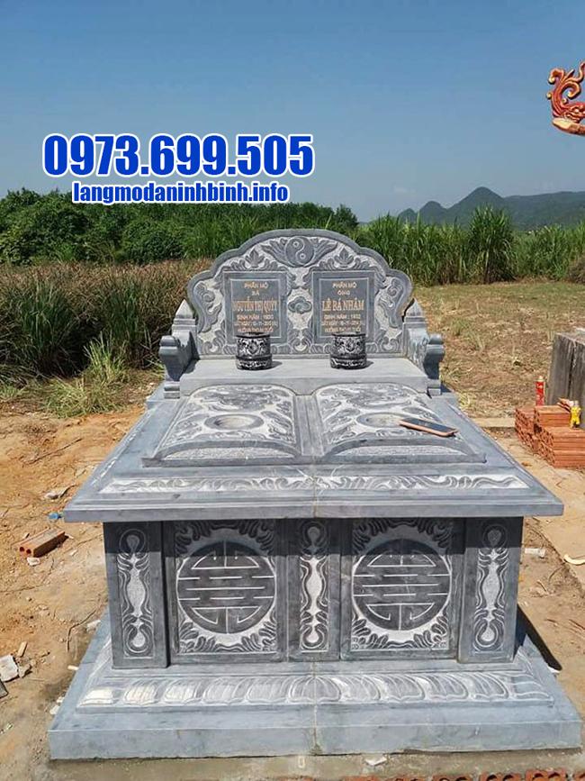 mộ đôi bằng đá thanh hóaóa