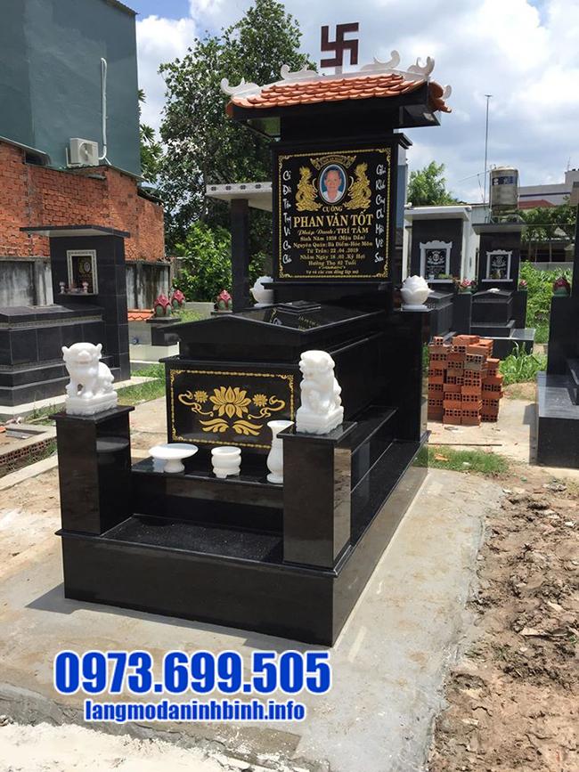 mộ bằng đá granite