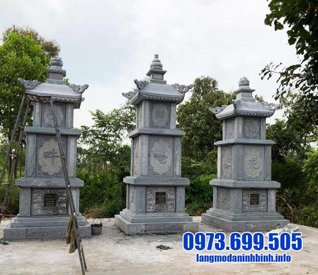 mộ tháp bằng đá thanh hóa
