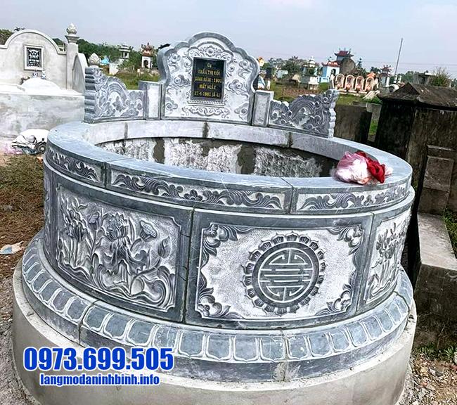 mộ tròn đá đẹp nhất