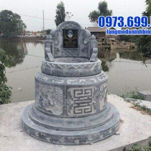 mộ tròn bằng đá đẹp nhất