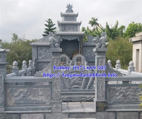 Địa chỉ bán các mẫu lăng mộ đá uy tín chất lượng nhất hiện nay tại Ninh Bình