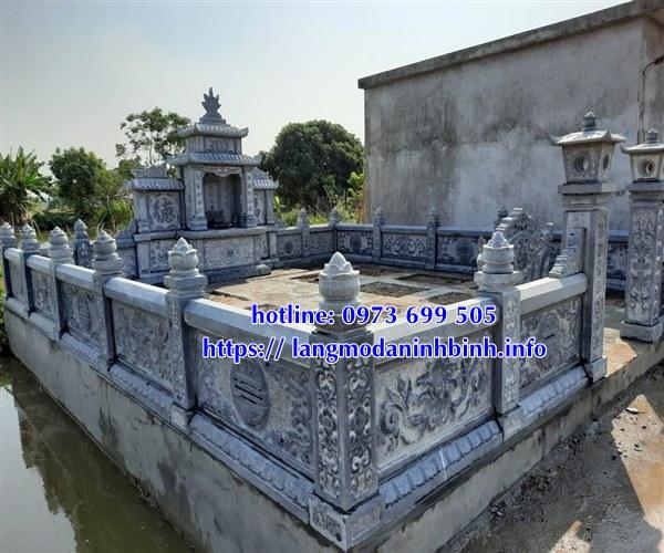 Hình ảnh các mẫu khu lăng mộ bằng đá đẹp nhất hiện nay tại Đắk Lắk,