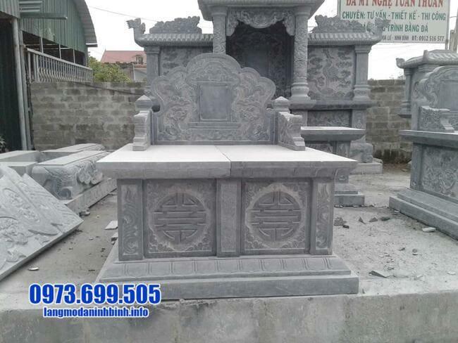 Mẫu mộ đôi đá đẹp nhất tại ninh bình