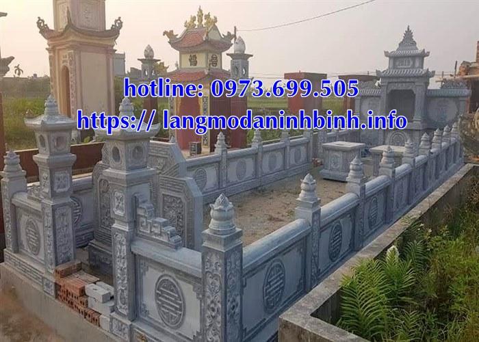Mẫu lăng mộ bằng đá giá rẻ nhất hiện nay tại Tây Nguyên