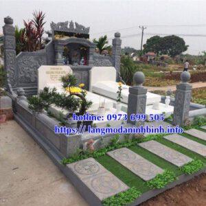 Mẫu lăng mộ đá Ninh Bình đẹp bán tại Đắk Lắk 04