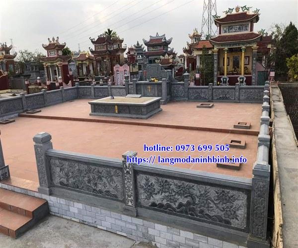 Mẫu lăng mộ đá - khu lăng mộ bằng đá mới nhất hiện nay