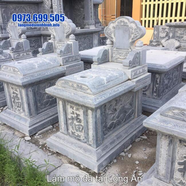 làm mộ bành đá tại long an