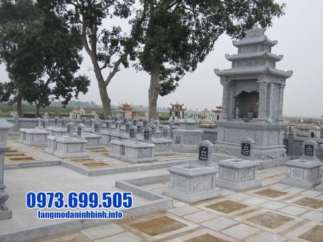 lăng mộ đẹp bằng đá xanh