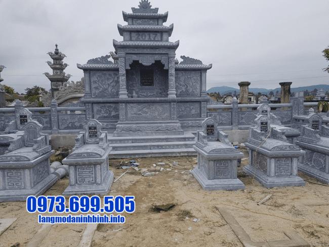 lăng mộ đẹp nhất bằng đá xanh