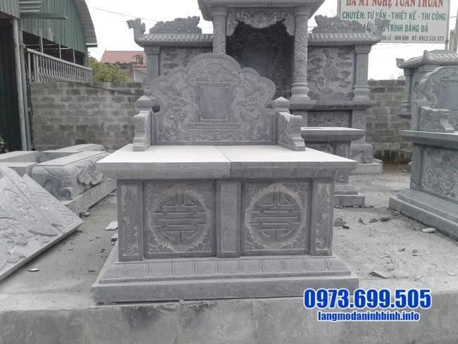 mẫu mộ đá đôi tại bình phước