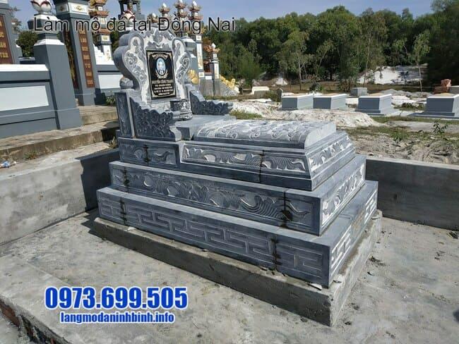 mẫu mộ bành đá tại đồng nai