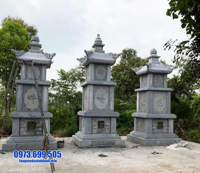 mẫu mộ tháp đá tại Quảng Nam đẹp