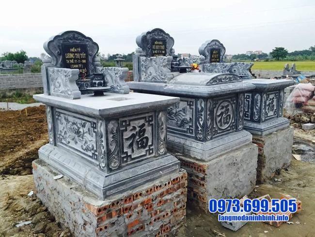 mộ đá đôi tại bình phước