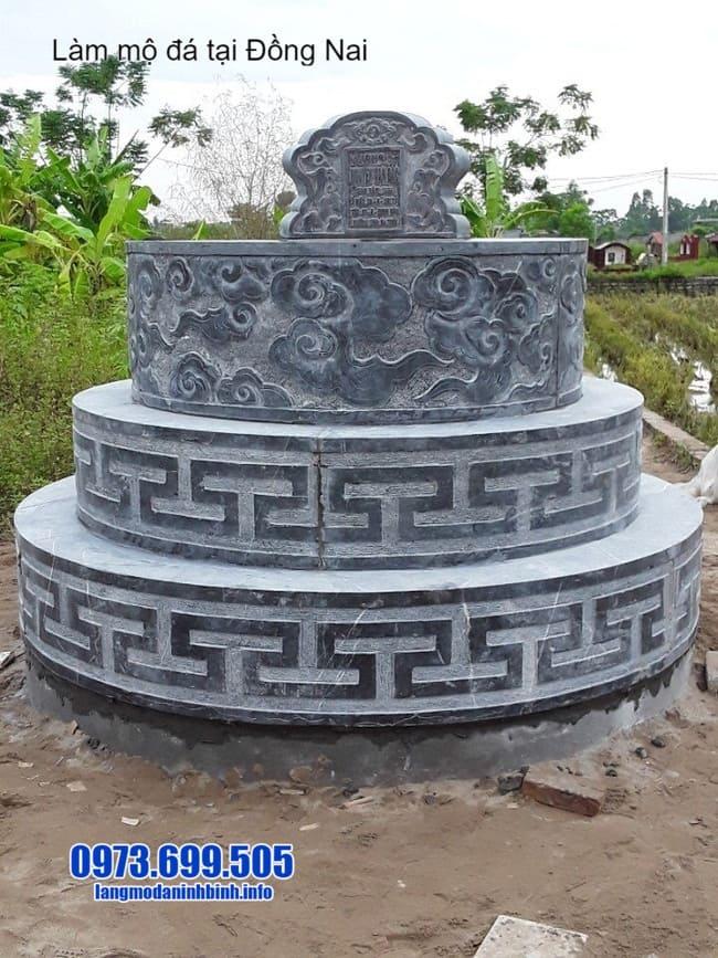 mộ đá tròn tại đồng nai