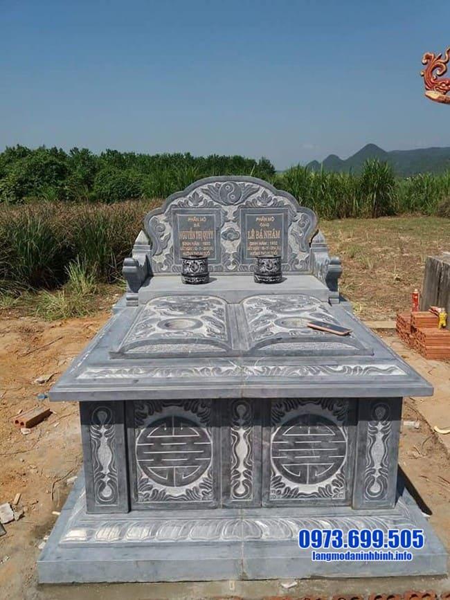 mộ đôi đá đẹp nhất tại bình phước