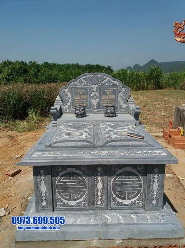 mộ đôi đá ninh bình đẹp