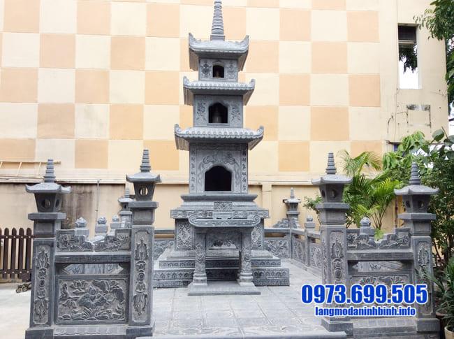mộ tháp đá tại bình phước