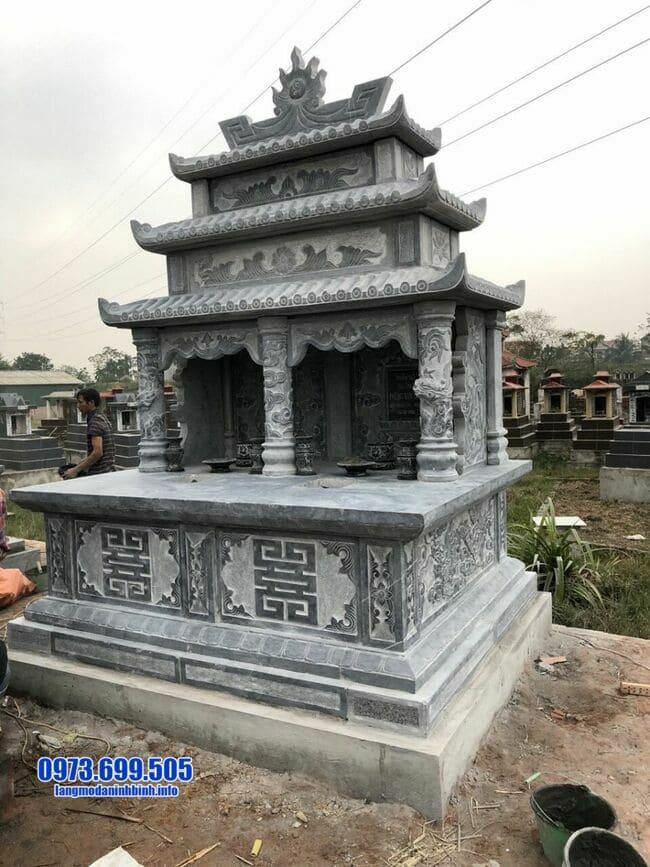 mộ đá đôi tại Quảng Trị đẹp