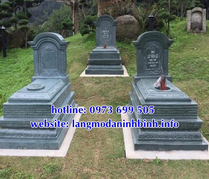Cấu tạo mẫu mộ bành đá, mẫu mộ đá không mai