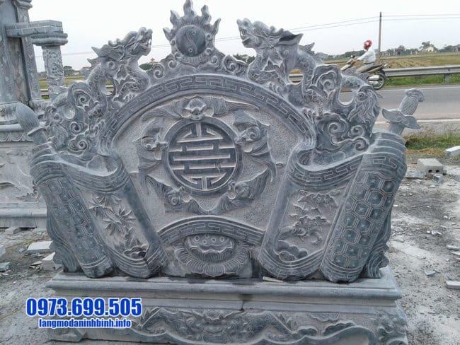 cuốn thư bằng đá tại Thái Bình
