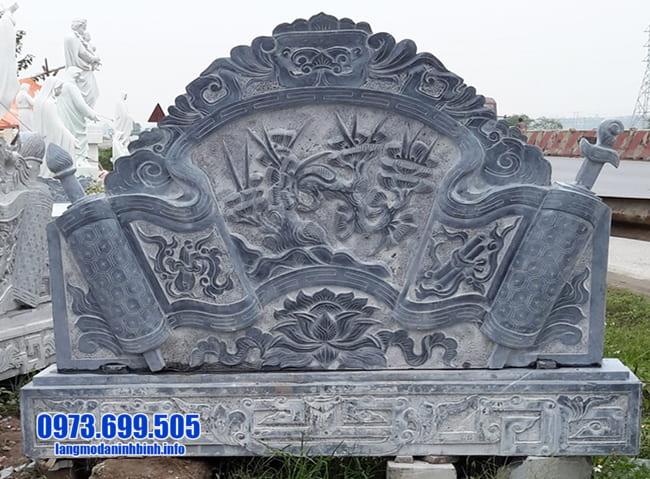 cuốn thư đá tại Thái Bình đẹp