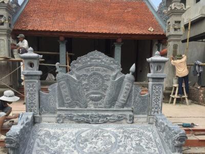 mẫu cuốn thư bằng đá đẹp giá rẻ tại Hưng Yên