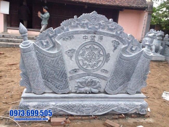 mẫu cuốn thư bằng đá đẹp giá rẻ tại Thái Bình