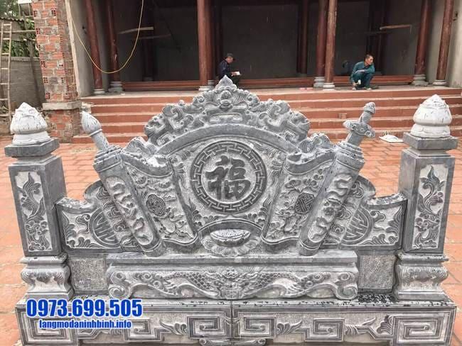 mẫu cuốn thư bằng đá tại Hưng Yên đẹp