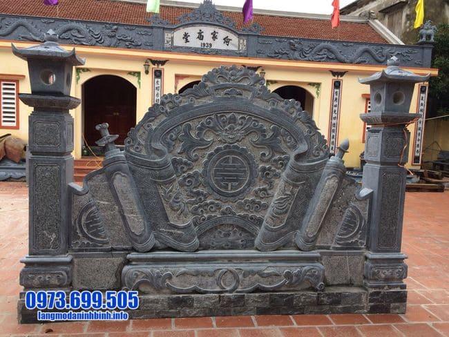 mẫu cuốn thư bằng đá tại Thái Bình đẹp nhất