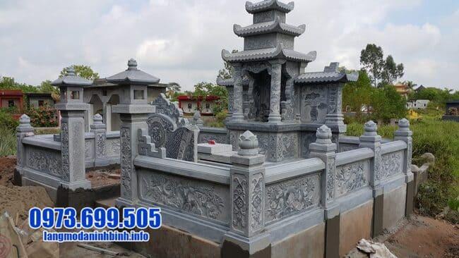 mẫu khu lăng mộ đá tại Huế đẹp nhất
