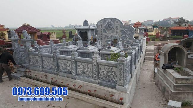 mẫu khu lăng mộ đá tại Quảng Trị