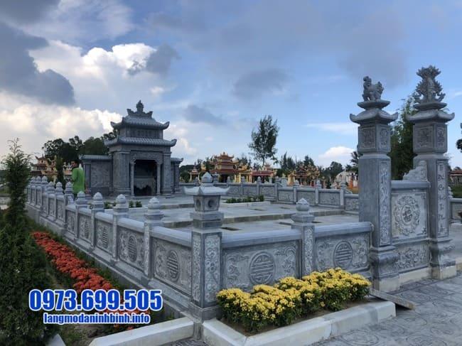 mẫu lăng mộ đá đẹp tại Huế