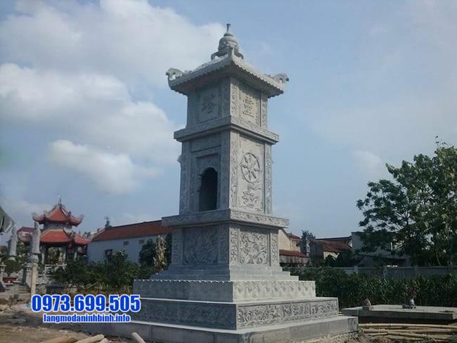 mẫu mộ tháp đá tại Quảng Ngãi đẹp