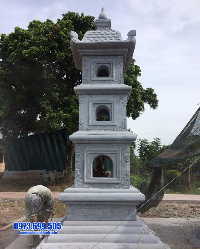 mẫu mộ tháp đá tại Quảng Ngãi