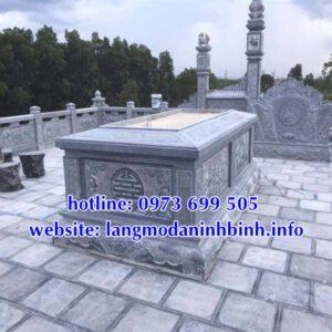 Những ưu điểm nổi bật của các mẫu mộ không mái bằng đá
