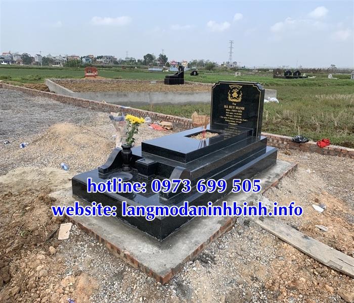 Kích thước mộ bành đá chuẩn phong thủy nhất hiện nay