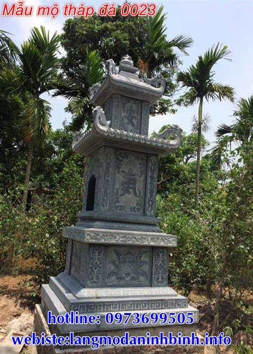 Báo giá mộ tháp bằng đá tại Đắk Nông chính xác nhất hiện nay