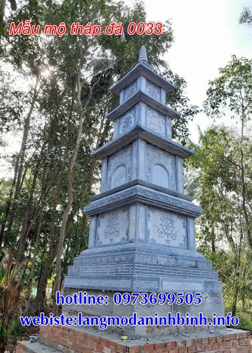 Kích thước mộ tháp phật giáo bằng đá tại thành phố Hồ Chí Minh