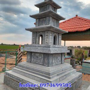 các mẫu mộ tháp bằng đá đẹp tại Đắk Nông