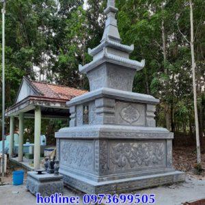 Mộ phật giáo bằng đá đẹp tại Đắk Lắk