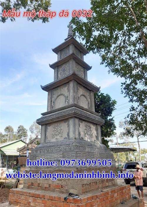 Địa chỉ bán mẫu mộ tháp phật giáo bằng đá chuẩn kích thước phong thủy nhất hiện nay tại Đắk Nông