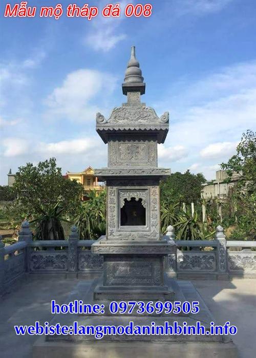 Hình ảnh các mẫu mộ tháp đẹp tại đắk lắk