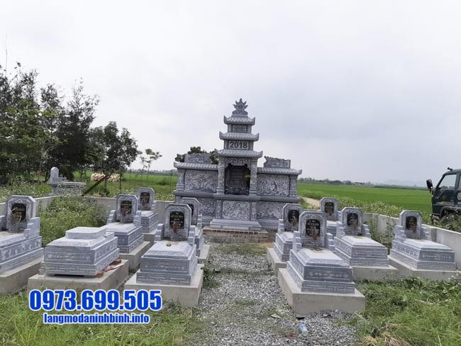 mẫu khu lăng mộ đá tại Quảng Nam đẹp