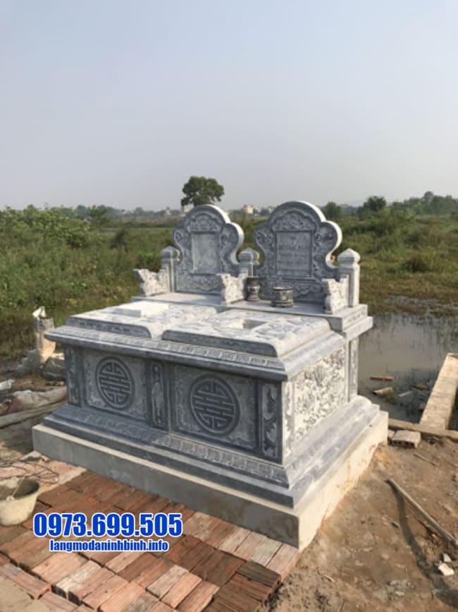 mộ đôi bằng đá đẹp nhất tại Đà Nẵng