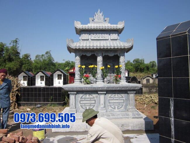 mộ đôi bằng đá tại Đà Nẵng đẹp nhất
