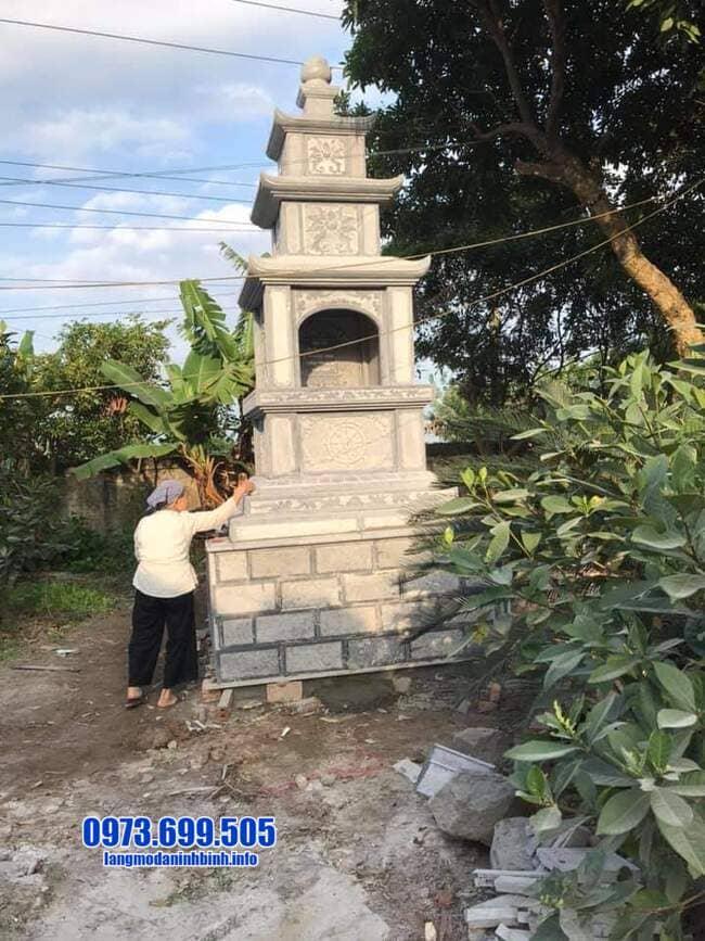 mộ tháp đá tại Long An đẹp nhất