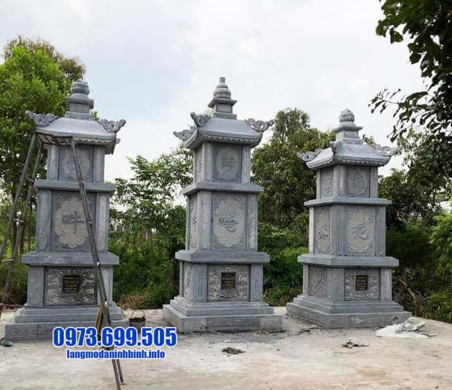 mộ tháp phật giáo tại Long An